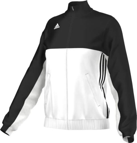 Dres reprezentacyjny kurtka damska czarno biała adidas T16 ( AJ5326 )