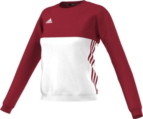 Bluza damska SWEAT czerwono biała adidas T16 ( AJ5416 )