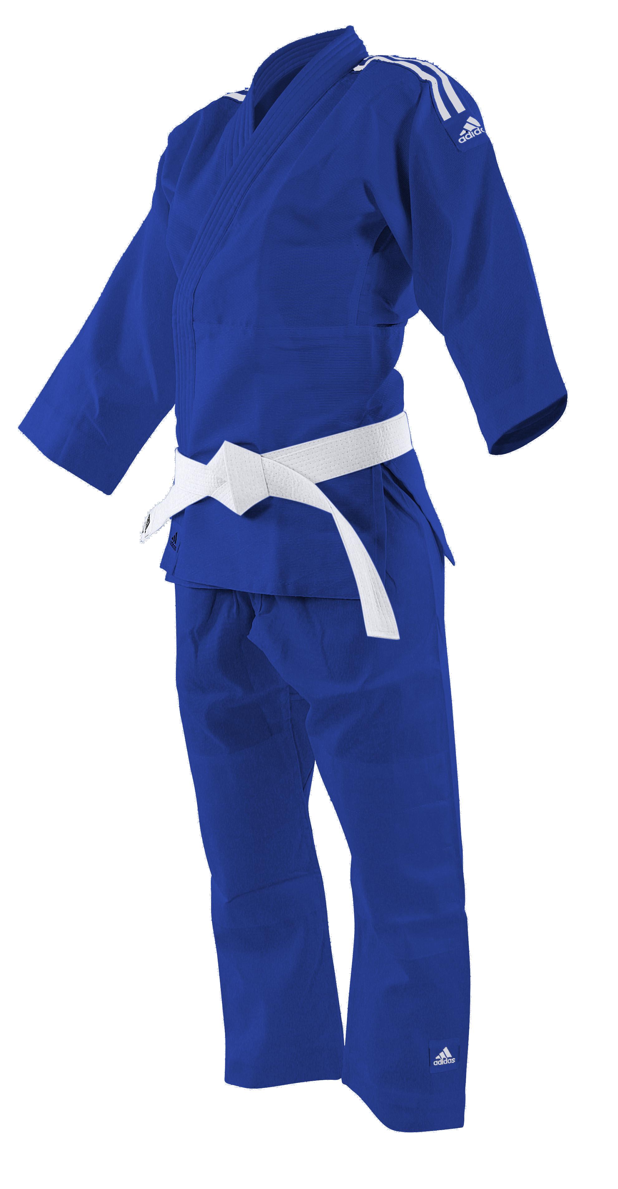 Judoga Adidas Evolution II J250E Biały 120130 cm